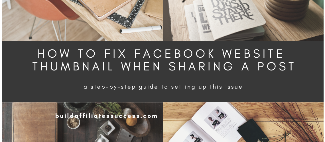 How To Fix Facebook Website Thumbnail When Sharing A Post